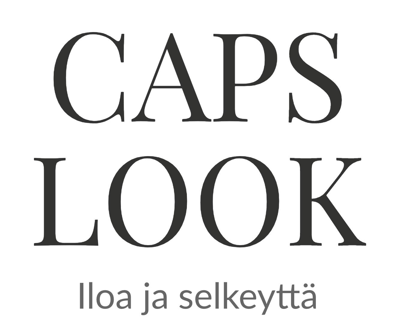 caps look logo